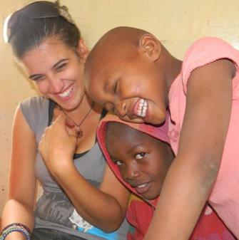 work with children in Africa